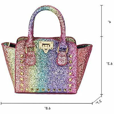 CMK Trendy First Shinny Glitter Purse For