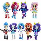 My Little Pony Equestria Boys Girls Figures 9PCS Set Monster