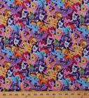 My Little Pony Ponies Unicorns Girls Kids Magic Cotton Fabri