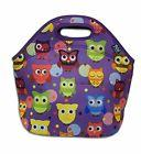 Neoprene Insulated Lunch Bag Tote with Zipper, for Women, Gi