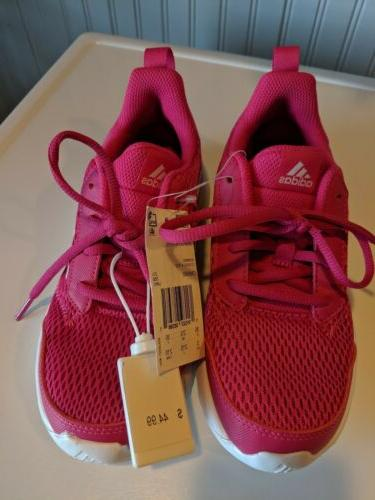 New! Adidas K Running Sneakers Shoes Pink Youth