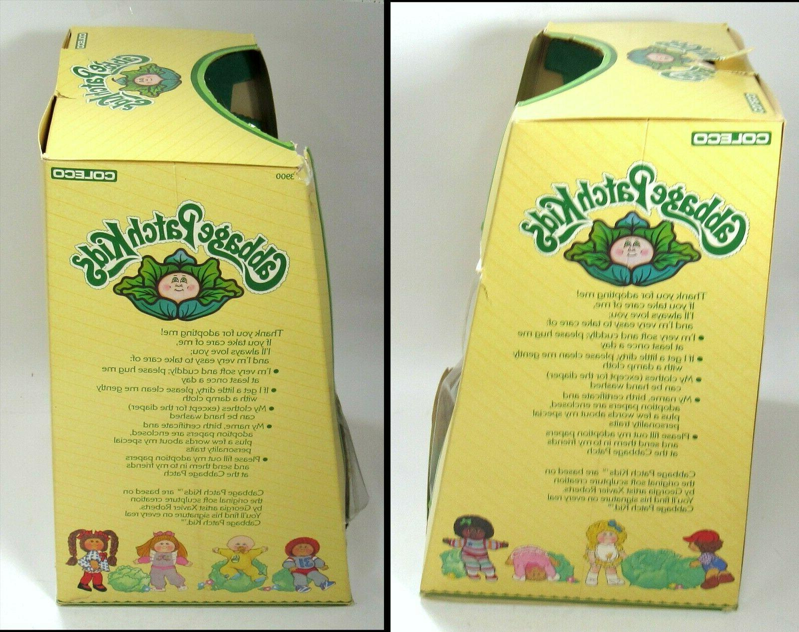 New Box Patch Kids Green Eyes One Tooth Girl