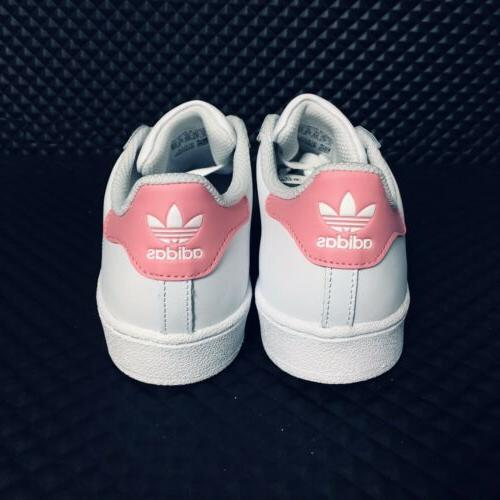 *NEW* Superstar Shell Girls White
