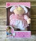 NIB Kids Preferred My First Doll Baby Pink With Flower Print