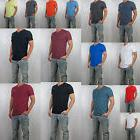 NWT HOLLISTER Men Must Have Slim Fit V Neck tag less T Shirt