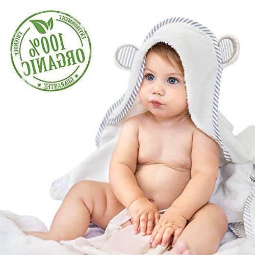 organic bamboo hooded towel soft
