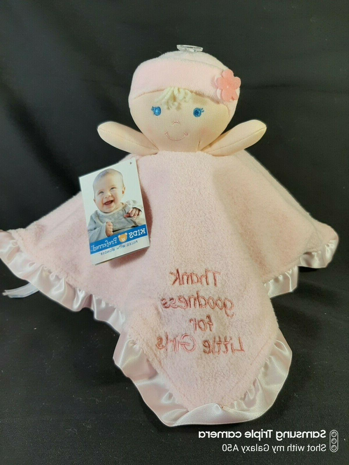 Kids Pink Thank Goodness Little Baby Plush