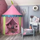 Princess Castle Girl Play Tent Kids Fairy Play House Indoor