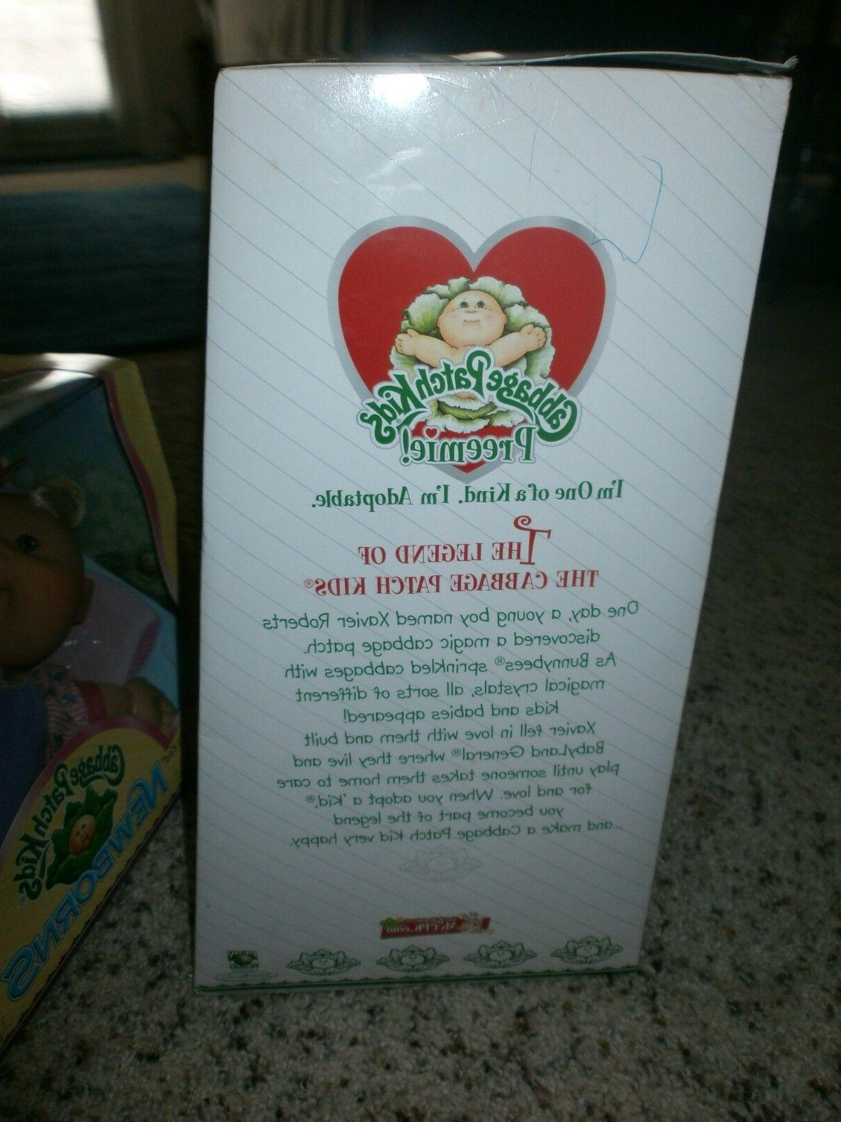 RARE Patch Preemie JANE RED HAIR in Box**
