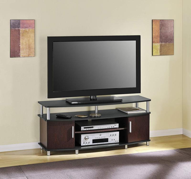 Smart HD TV Stand 55 inch Digital Low Profile Small Entertai