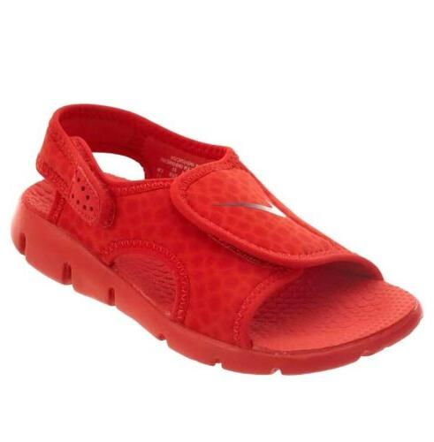 Nike Sunray Adjust 4 Kids Boys Girls 386518-603 Red Sport Sa