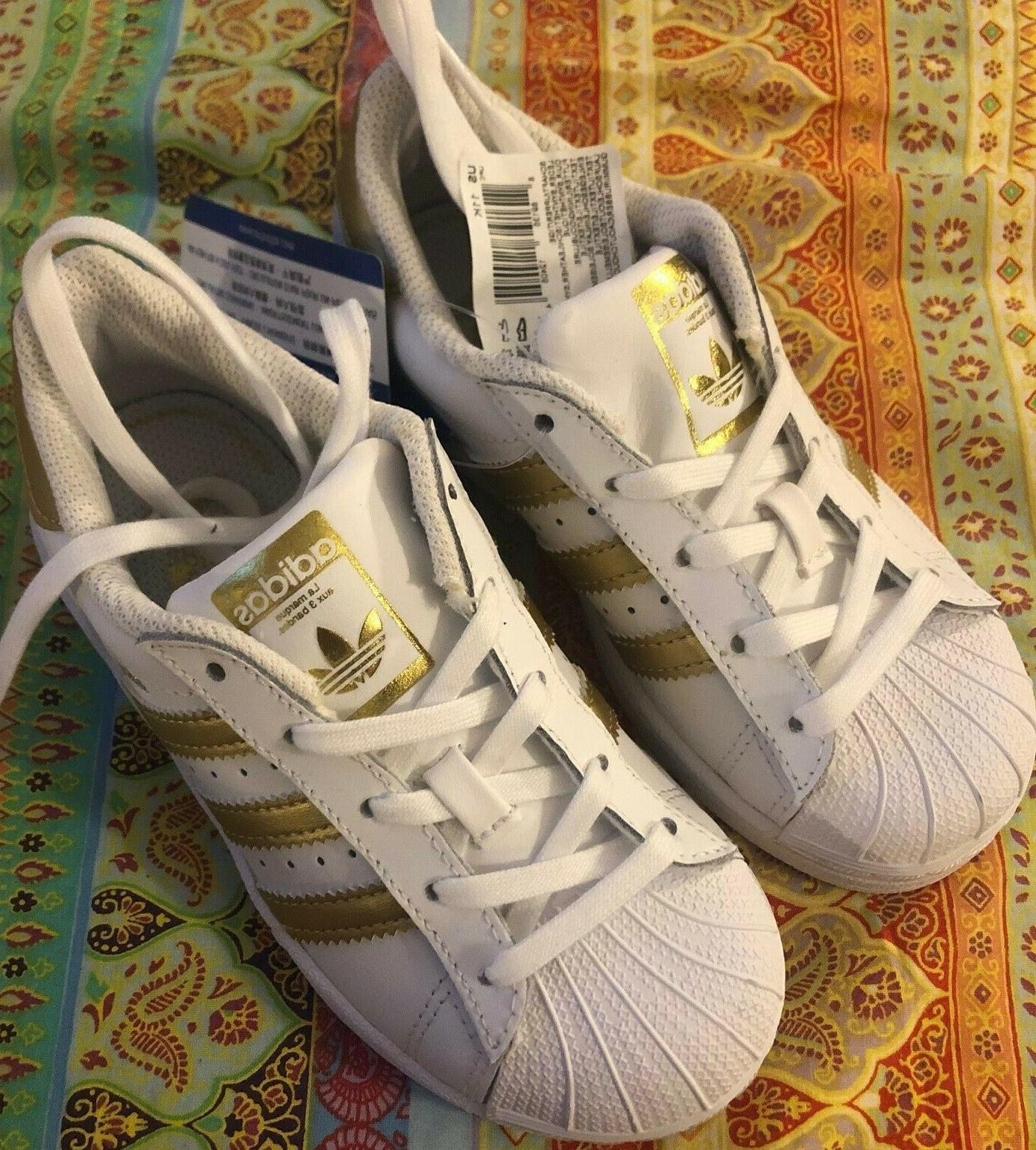 Adidas Superstar Kids Shoes White