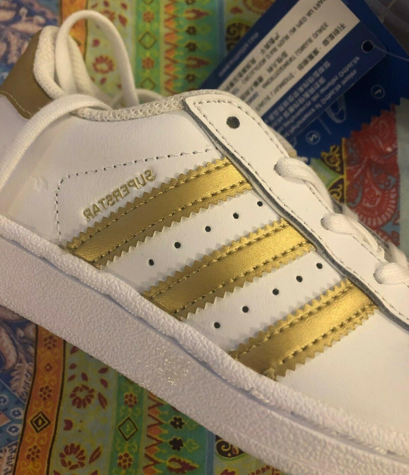 superstar kids girls shoes sneakers size 11