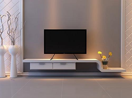 "WALI Table Top TV Stand for Most 22/""-65/"" LCD Flat Screen TV VESA up to 800..."