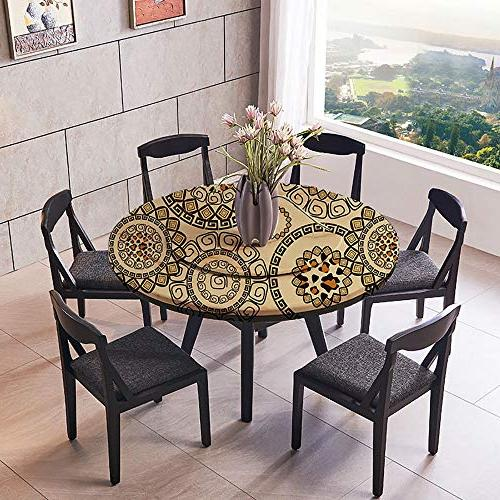 Mikihome Round Table Magnificent for Wedding Restaurant Party