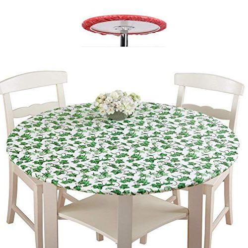"Mikihome Round Magnificent Girl for Restaurant 50""-55"" Round"