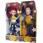 DISNEY TALKING TOY STORY SHERIFF WOODY JESSIE SOFT DOLL ACTI