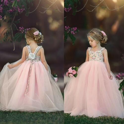 Toddler Girl Dress Baby Party Dress