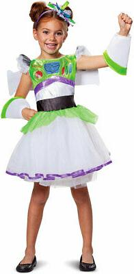 Toy Story 4 Buzz Tutu Deluxe TV Movie Characters Costume Chi