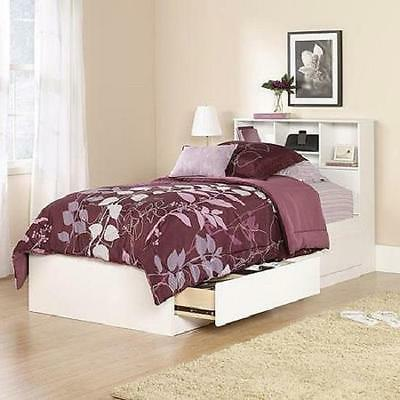 twin storage bed soft white captain s