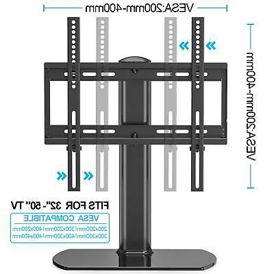 """Swivel with mount Tabletop Base for 32""""50"""" Tvs"""
