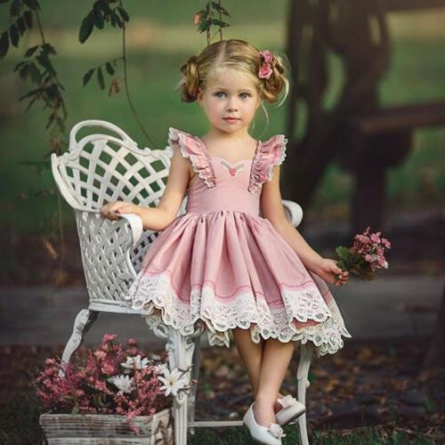 US Kids Baby Girls Clothes