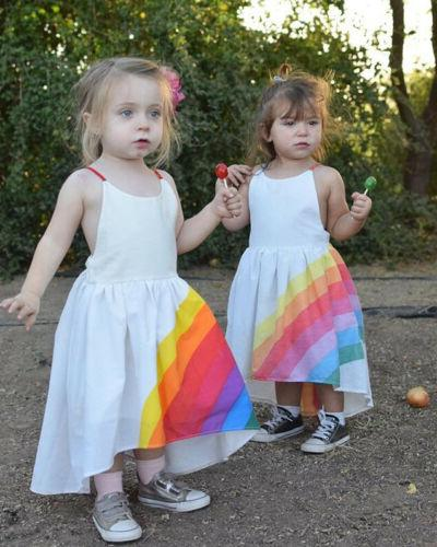 US Girls Dress Baby Party Pageant Beach Tutu Dresses