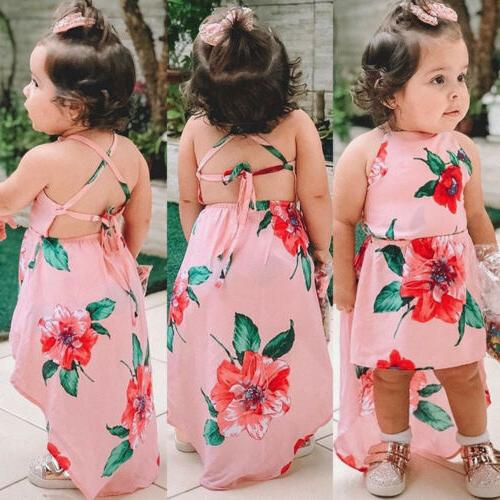 us summer toddler kids baby girls sleeveless