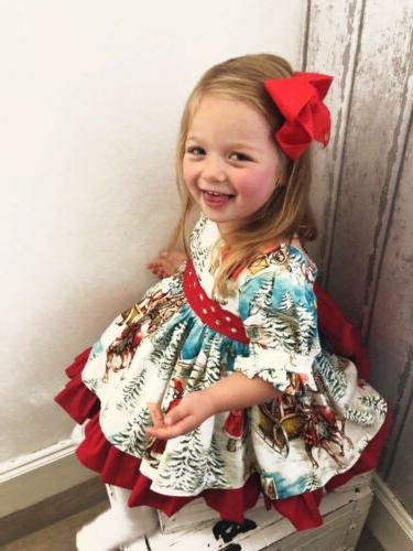 Baby Girl Flared Dress