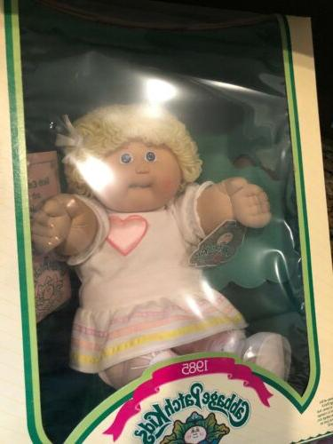Vintage 1985 Cabbage Patch With Tooth Girl New