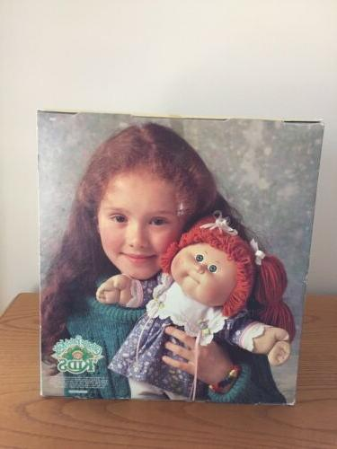 Vintage Cabbage Patch Doll 'KIDS 1987 - Girl/Pink/White Dress