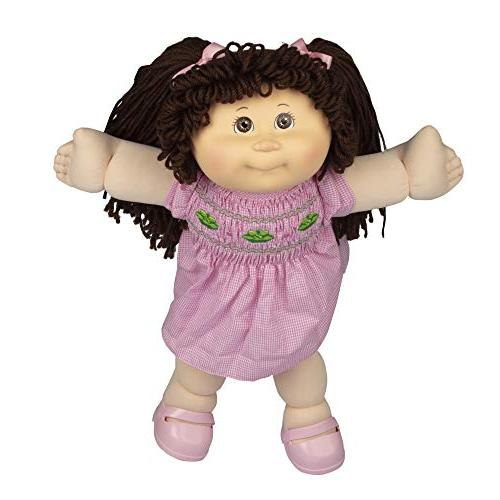 Cabbage Patch Retro Style Doll Brunette Hair/Brown - Amazon Easy to Open