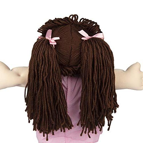 Cabbage Patch Kids Retro Yarn Hair Doll - Hair/Brown Eyes, - Amazon - to Open