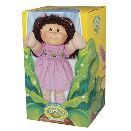 Cabbage Patch Retro Style Yarn Hair Doll - Hair/Brown Eyes, Amazon Exclusive Easy to Open