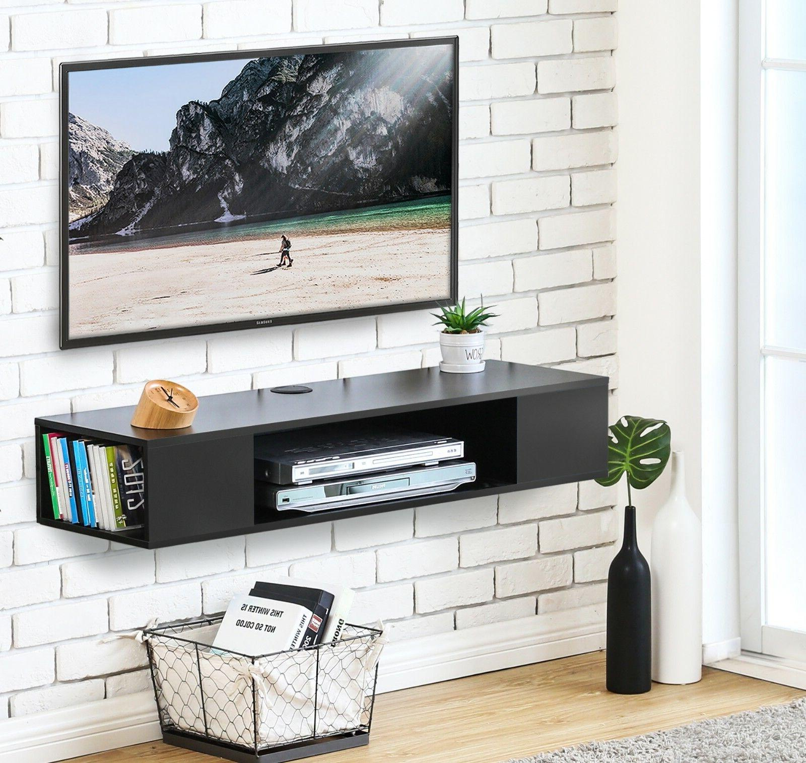 FITUEYES Wall Console,Floating TV Component