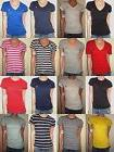 POLO RALPH LAUREN WOMEN'S T-SHIRTS V-NECK - CREW NECK COTTON