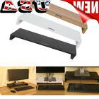 Wooden LED LCD Computer Monitor Shelf Stand Holder Display B