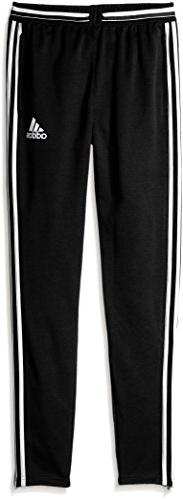 adidas Youth Soccer Condivo 16 Pants, Black/White, Small