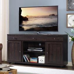 Home Source Industries Leko TV Stand with Optional Fireplace