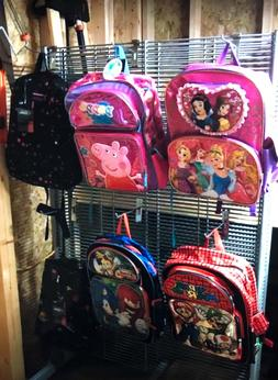 License kids backpacks peppa pig, princess, Spider-Man, supe