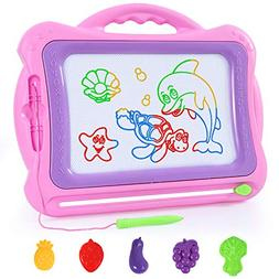SGILE Magnetic Drawing Board Toy, 15.7 X 13.4 '' Magnetic Do