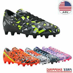 DREAM PAIRS Mens JR Kids Boys Girls Soccer Cleats Shoes Outd