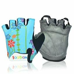 MIFULGOO Boy Girl Child Children Kid Padded Half Finger Fing