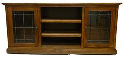 """Forest Designs Mission TV Stand, 21"""" Depth x 62"""" Width x 30"""""""