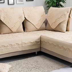 OstepDecor Multi-size Pet Dog Couch All Seasons Embroidered