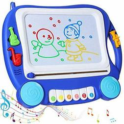 SGILE Musical Magnetic Drawing Board Gift for Kids Girl with