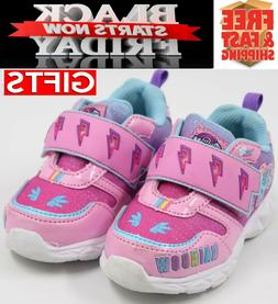 MY LITTLE PONY Light-Up Shoes Sneakers Toddler Size .8,10.11