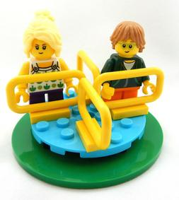 NEW LEGO CHILDREN on MERRY-GO-ROUND LOT minifig figure playg
