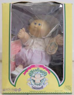 New in Box Cabbage Patch Kids Preemie Girl Doll 1985 Falda C