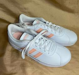 NEW size 1 ADIDAS KIDS VL Court 2.0 Athletic Gym Shoes girls